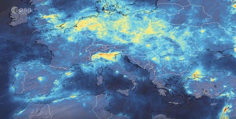 Ďalšia stopa Covid-19: Znečistenie, na historických minimách