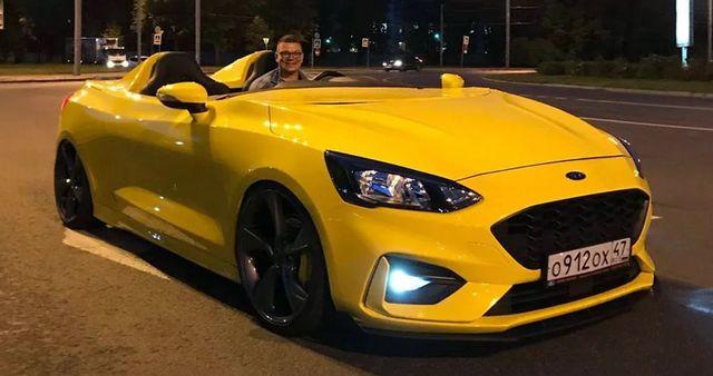 Ford Focus Speedster, kde inde ako v Rusku…