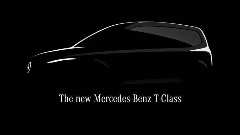 Mercedes T-Class: Kompaktná dodávka určená pre rodiny