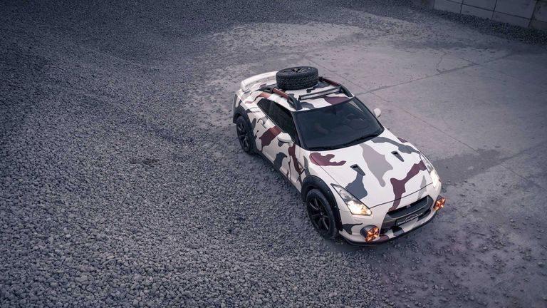 Nissan GT-R ako terénna Godzilla? Prečo nie…