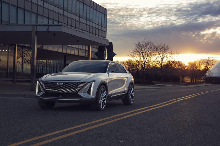 Koncept Cadillac Lyriq: Zelená éra sa začína