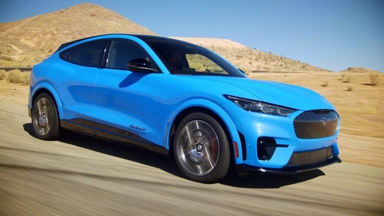 Ford Mustang Mach-E: Elektrické SUV už má svoju cenu