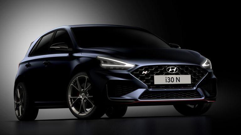 Hyundai i30 N 2021: Prvé oficiálne obrázky