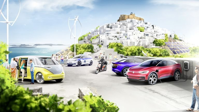 Astypalea: Ekologický ostrov, na ktorom budú len elektrické vozidlá